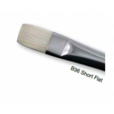 Daler Rowney Bristlewhite Short Flat Brushes