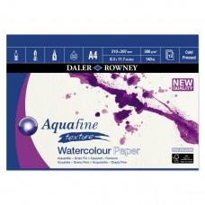 "Aquafine Cold Pressed (NOT) Watercolour Paper Gummed Pads - A4/A3/20""x16"""