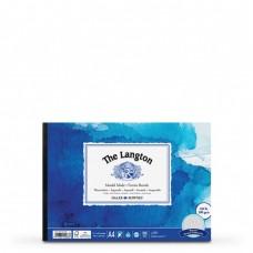 The Langton Rough Watercolour Paper Gummed Pads - A4/A3/A2