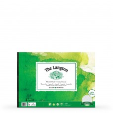 The Langton Cold Pressed (NOT) Watercolour Paper Gummed Pads - A4/A3/A2