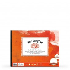 The Langton Hot Pressed Watercolour Paper Gummed Pads - 3 sizes