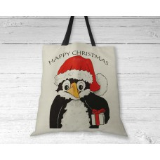 Christmas Penguin - Tote Bag