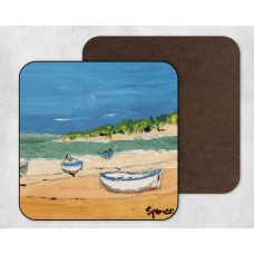 At The Beach - Set Of 4 Coasters