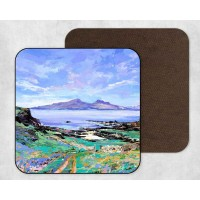 Isle Of Rum From Muck - Set Of 4 Coasters