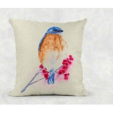 Eastern Bluebird - Cushion