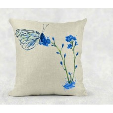 Blue Butterfly - Cushion