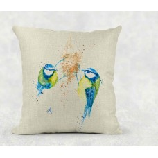 Eurasian Blue Tits - Cushion