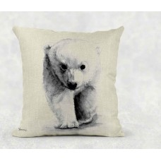Polar Bear - Cushion