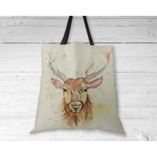 Campbell Stag - Tote Bag