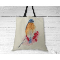 Eastern Bluebird - Tote Bag