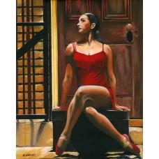 Tango Rouge - Art Print