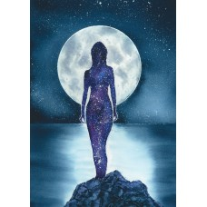 In The Moon Light - Art Print