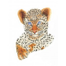 Leo The Leopard - Art Print