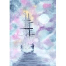 Pink Mist - Art Print
