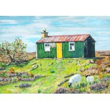Peat Cutters Bothy - Art Print