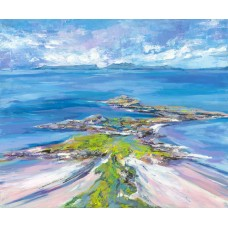 Arisaig Aerial View - Art Print