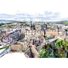 Edinburgh Castle - Art Print