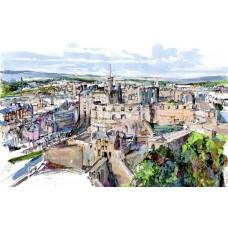 Edinburgh Castle - Art Print