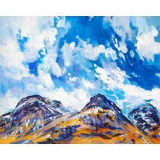 Glencoe In Winter - Art Print