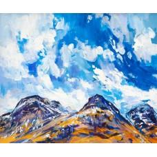 Glencoe In Winter - Art Print