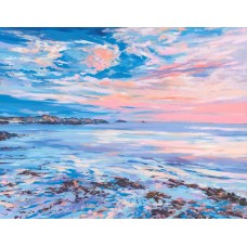 Hebridean Sunset - Art Print