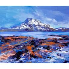 Siloch From Loch Maree - Art Print