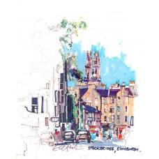 Stockbridge Edinburgh - Art Print