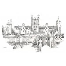 Crieff Town - Art Print