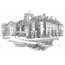 Gleneagles Hotel - Art Print