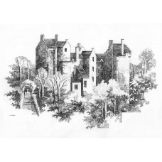 Kellie castle - Art Print