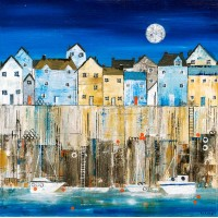 Blue Harbour - Art Print