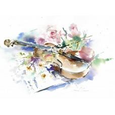 Sweet Music - Art Print