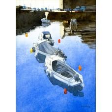 Quiet Day At Dysart - Art Print