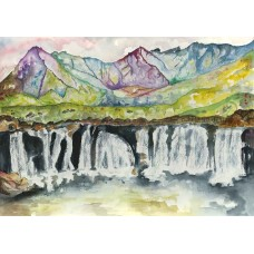 Fairy Pools of Skye - Art Print