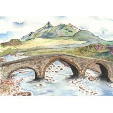 Sligachan Bridge Skye - Art Print