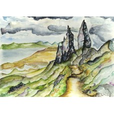 The Old Man Of Storr - Art Print
