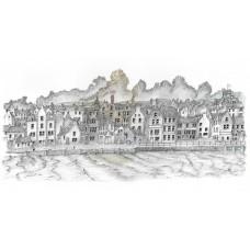 Lerwick Front 1904 - Art Print
