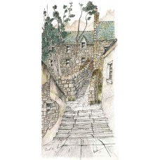 Pirates Lane, Shetland - Art Print