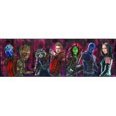 Guardians Of The Galaxy - Art Print