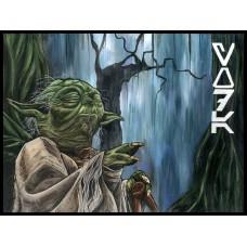 Yoda - Art Print