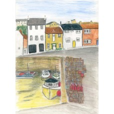 Crail creels - Art Print
