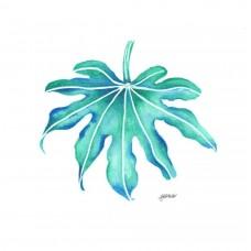 Green Leaf - Art Print