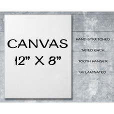 "Canvas Print 12"" x 8"""