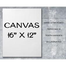 "Canvas Print 16"" x 12"""