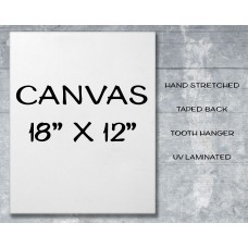 "Canvas Print 18"" x 12"""