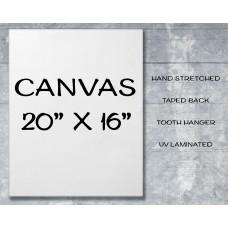"Canvas Print 20"" x 16"""