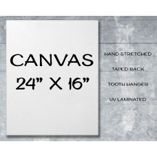 "Canvas Print 24"" x 16"""
