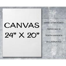 "Canvas Print 24"" x 20"""