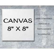 "Canvas Print 8"" x 8"""