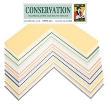 Mount Board Conservation A4 Sheet - pack of 5